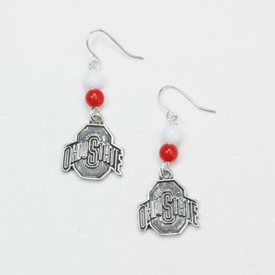 Ohio State Wire Logo Earring COHE1