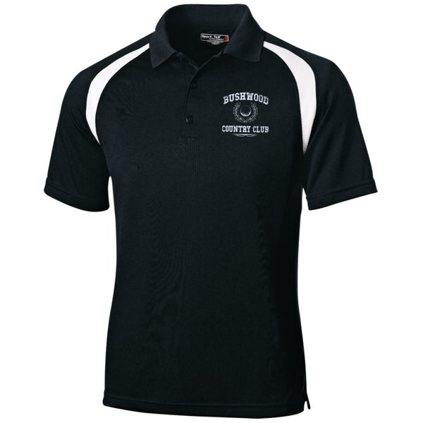 Polo Shirts - Caddyshack - EMBROIDERED Bushwood Country Club - Moisture-Wicking Tag-Free Golf Shirt