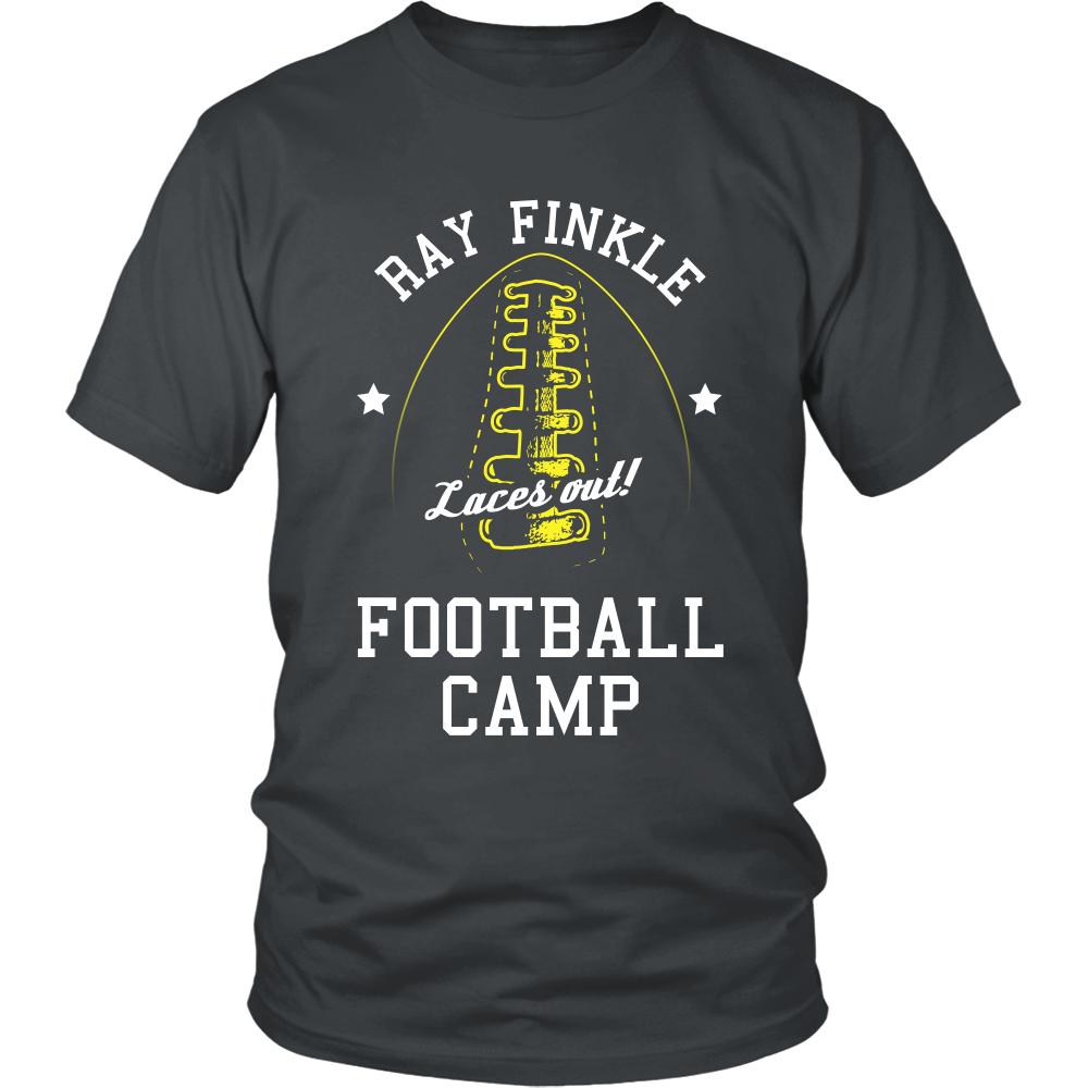 Shirt design with laces -  Ace Ventura Laces Out Ray Finkle Front Design Football Tshirt