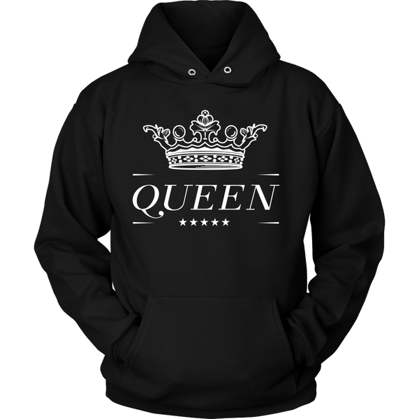 Queen With Crown - Front Design