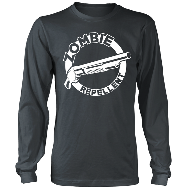 Zombie Repellent (White Circle) - Front Design