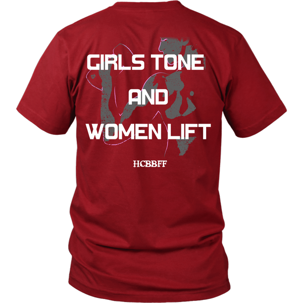 HCBBFF -  Girls Tone And Women Lift - Back Design