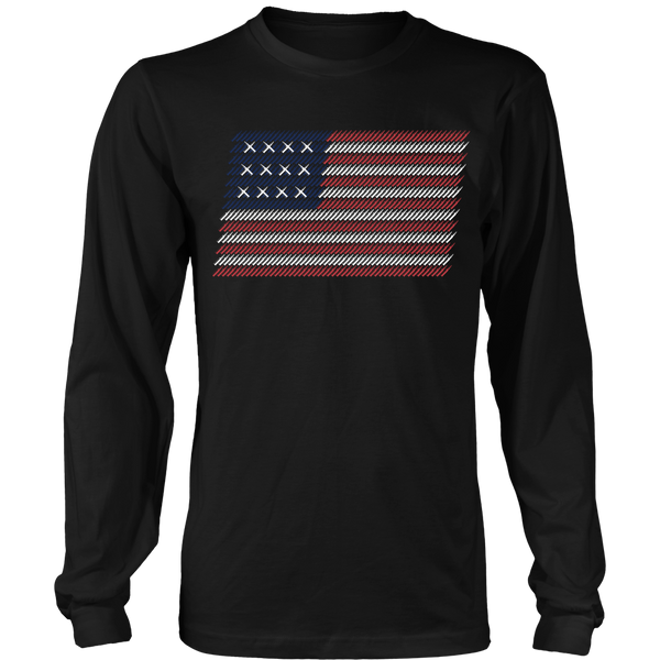 Bullet Flag Waving- Front Design