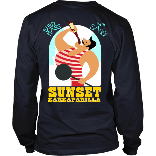 Fallout Inspired - Sunset Sarsparilla (Yellow) Back Design