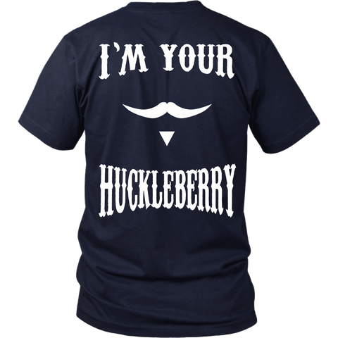 Tombstone - I'm your Huckleberry - Back Design