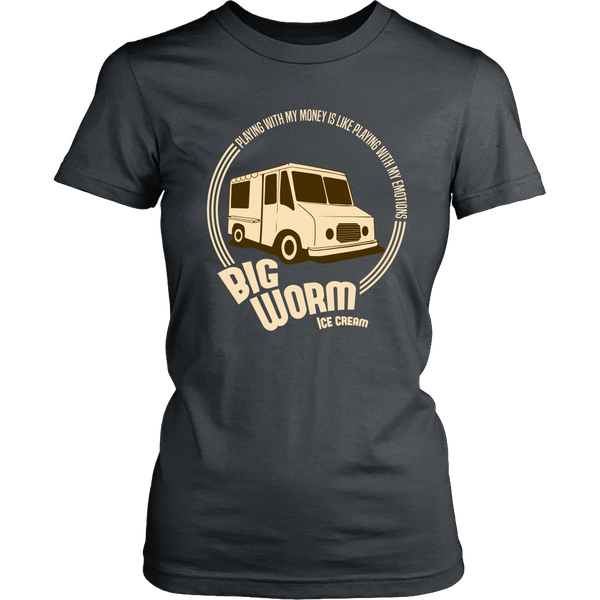 Friday - Big Worm (B) - Playing With My Money Is Like Playing With My Emotions -  Front Design