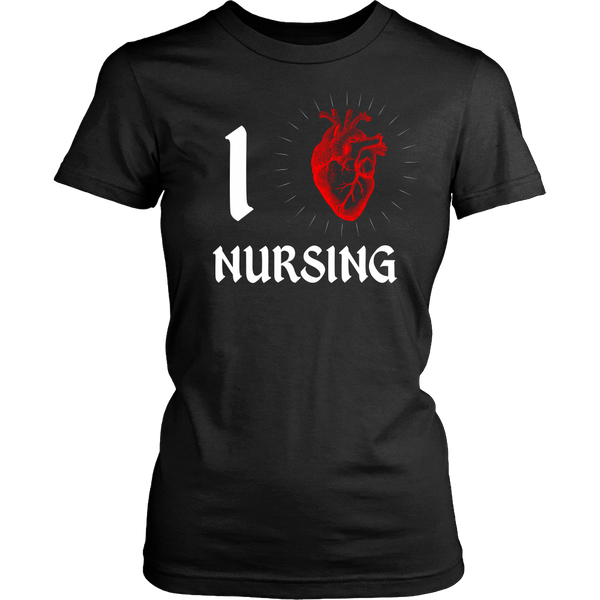 Nursing - I (Heart) Nursing - Front Design