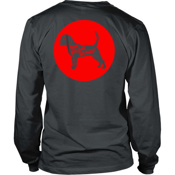 Three's Company Inspired - (Circle) Regal Beagle - Back Design