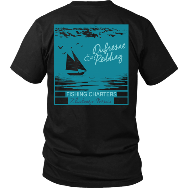 Shawshank Redemption - New (B) Dufresne & Redding Fishing Charters (Back Design)