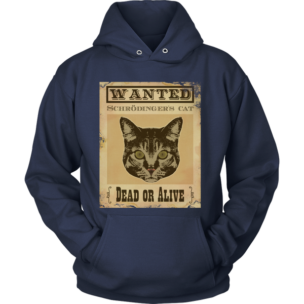Schrodingers Cat - Wanted Dead Or Alive - Front Design