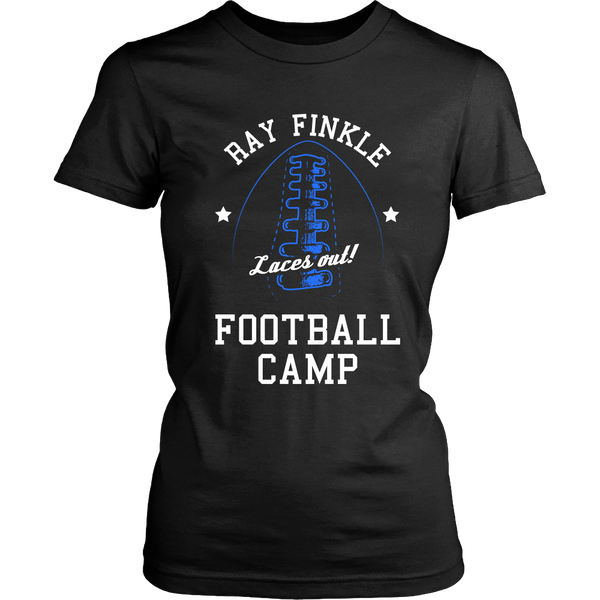 Ace Ventura - Laces Out Blue - Ray Finkle -  Football Tshirt