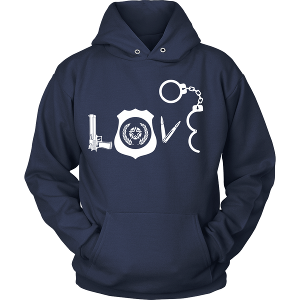 Police Officers - Police Love - Front Design