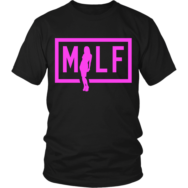 Funny Mom - MILF Shirt (A) - Front Design