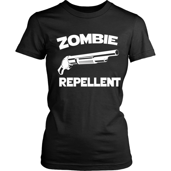 Zombie Repellent (White) - Front Design