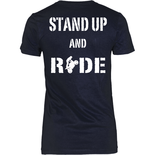 Stunt - Standup And Ride (White) - Back Design