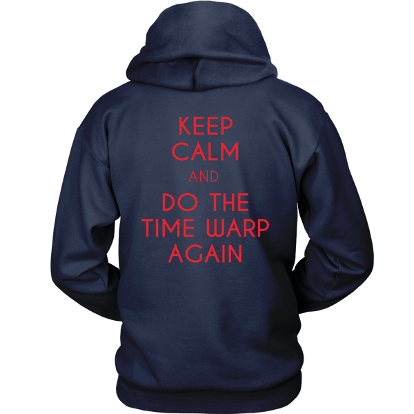 Rocky Horror Inspired - Keep Calm And Do The Time Warp Again - Back Design