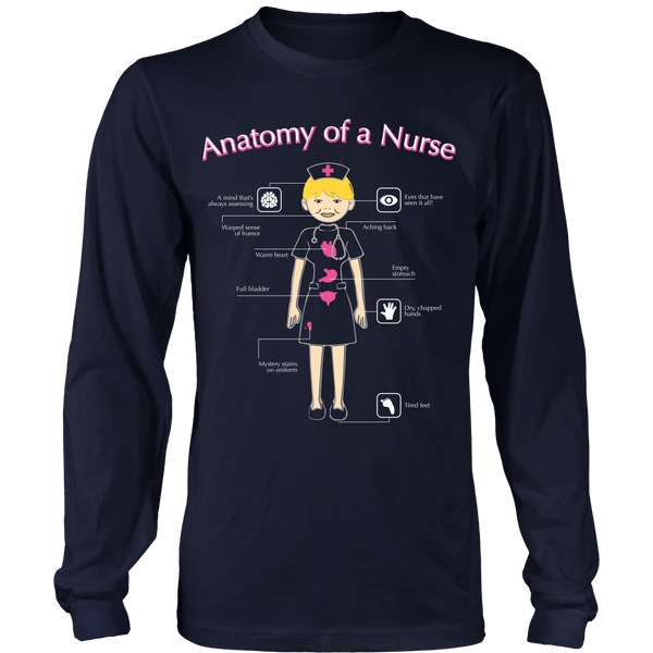 Nurse - Anatomy Of A Nurse - Front Design