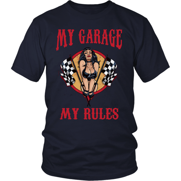 Mechanic Shirt (CF)- My Garage My Rules - Front Design