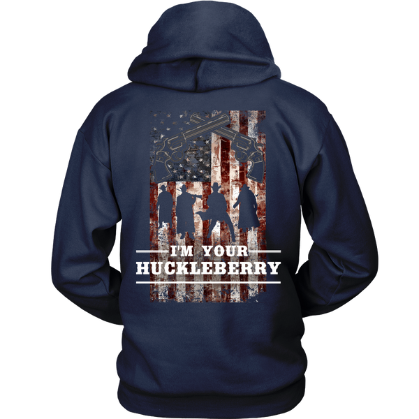 Tombstone - American - I'm Your Huckleberry -- Back Design