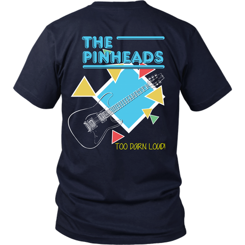 Back To The Future Inspired - The Pinheads (A) (Back Design)