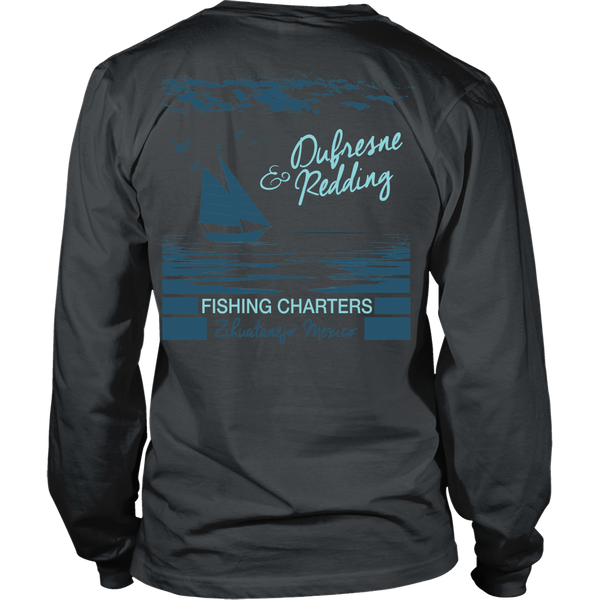 Shawshank Redemption - New - Dufresne & Redding Fishing Charters (Back Design)