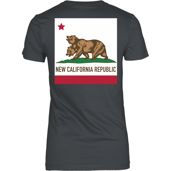 Fallout Inspired - New California Flag - Back design
