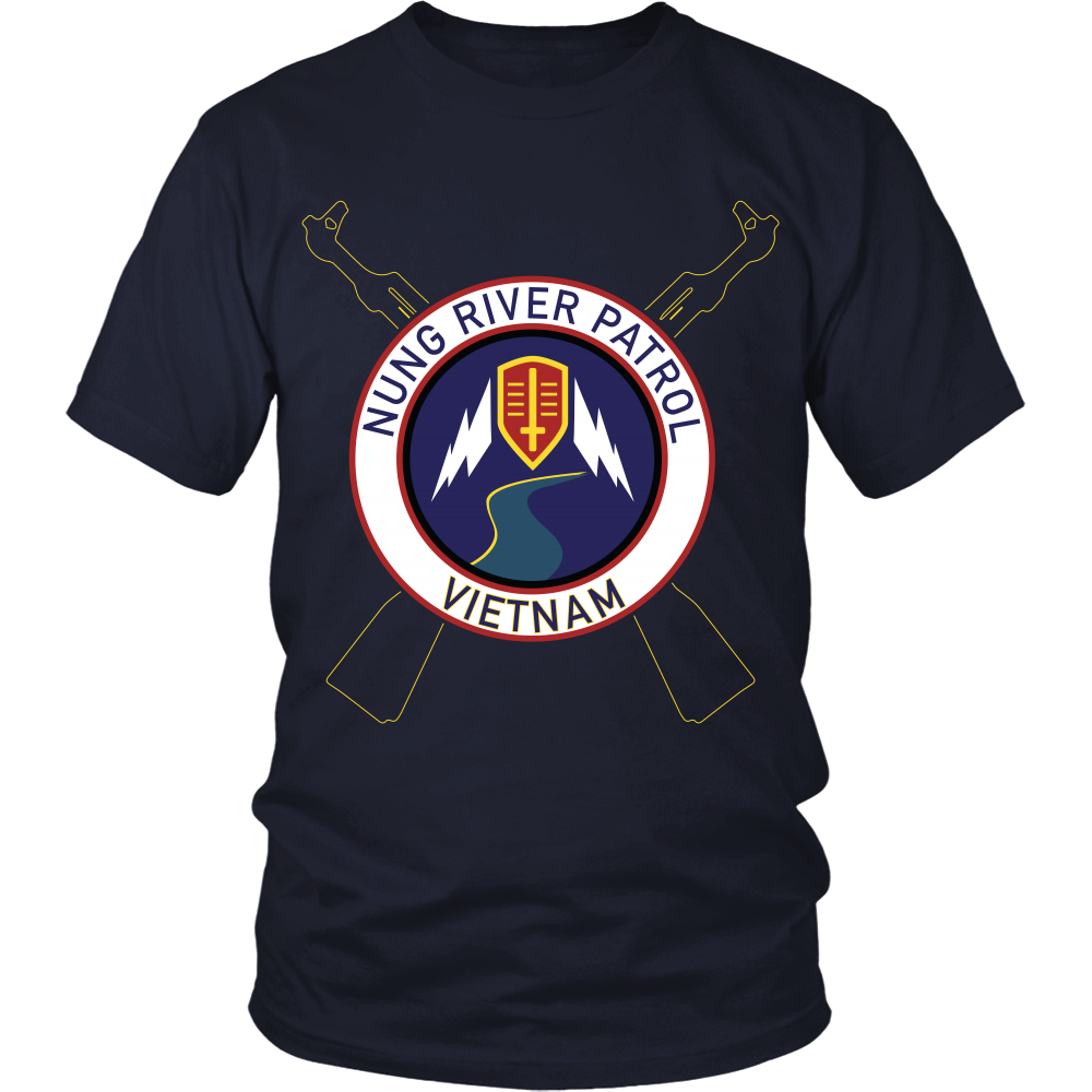 Apocalypse Now T-Shirt - Nung River Patrol (Clean) - Design on Front
