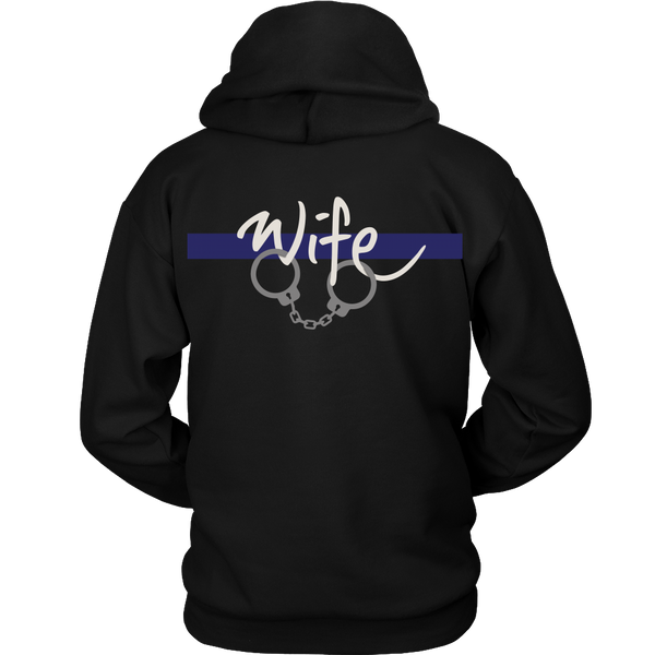 Police Officer's Wife - Back Design