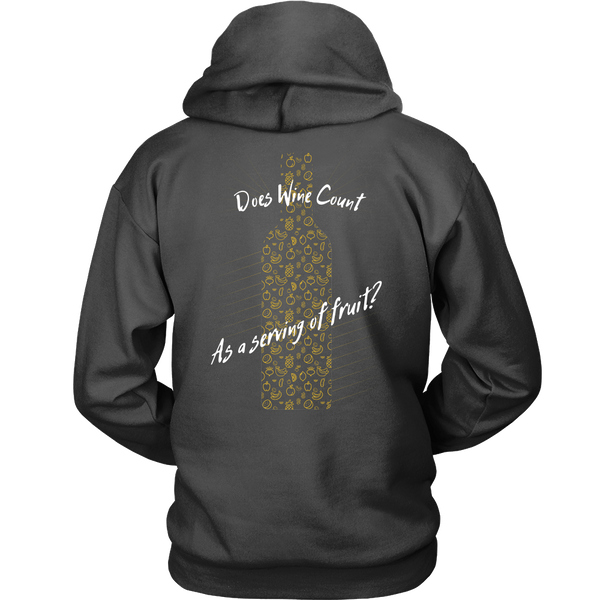 Does Wine Count As A Serving Of Fruit? - Back Design