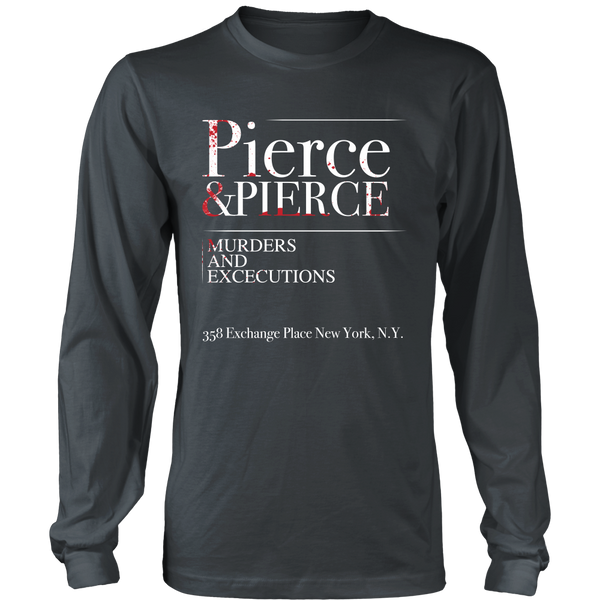 American Psycho Inspired - Pierce and Pierce - Front Design