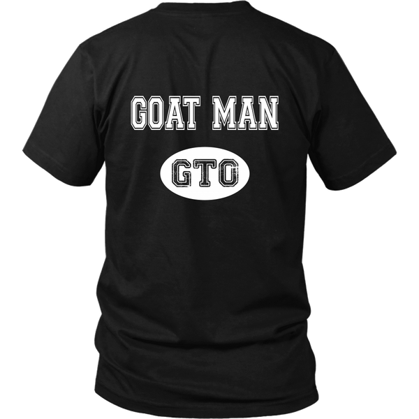 Goatman - GTO Lover Tshirt - Back Design