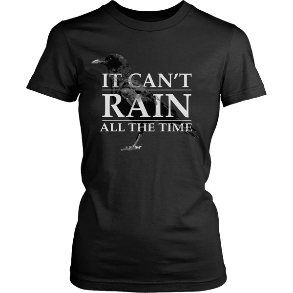 The Crow Inspired - It Can't Rain All The Time - Front Design