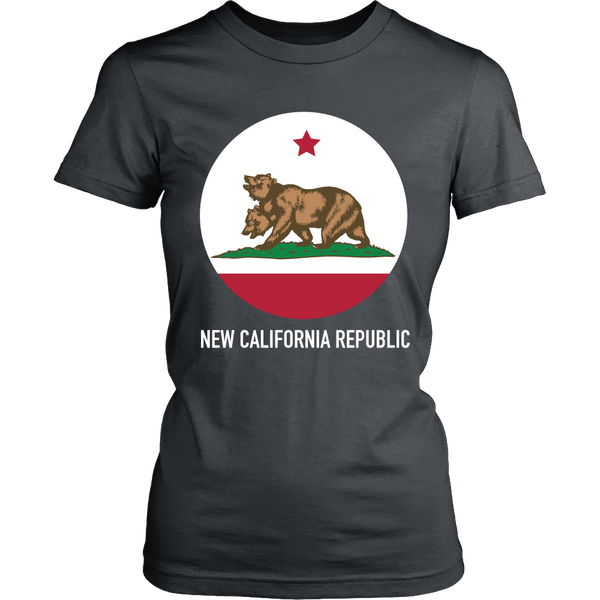 Fallout Inspired - New California Circle - Front design