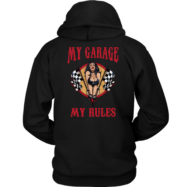 Mechanic Shirt (CF)- My Garage My Rules - Back Design