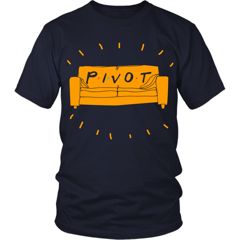 Friends Inspired - Pivot! - Front Design