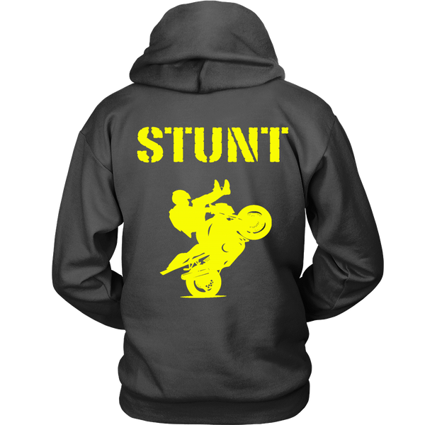 Stunt - Yellow - Back Design