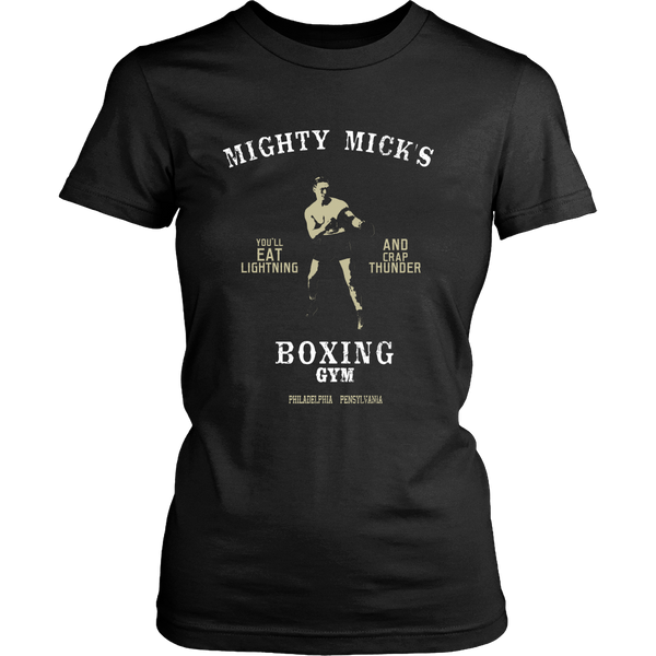 Rocky - Mighty Mick's Gym (A) - Front Design