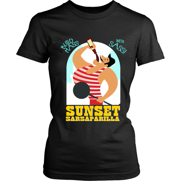 Fallout Inspired - Sunset Sarsparilla (Yellow) Front Design