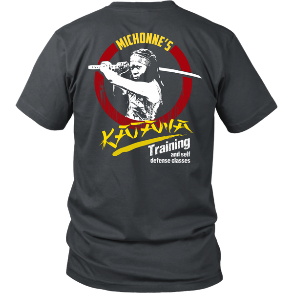 Michonne's Katana Training - Front and Back Design