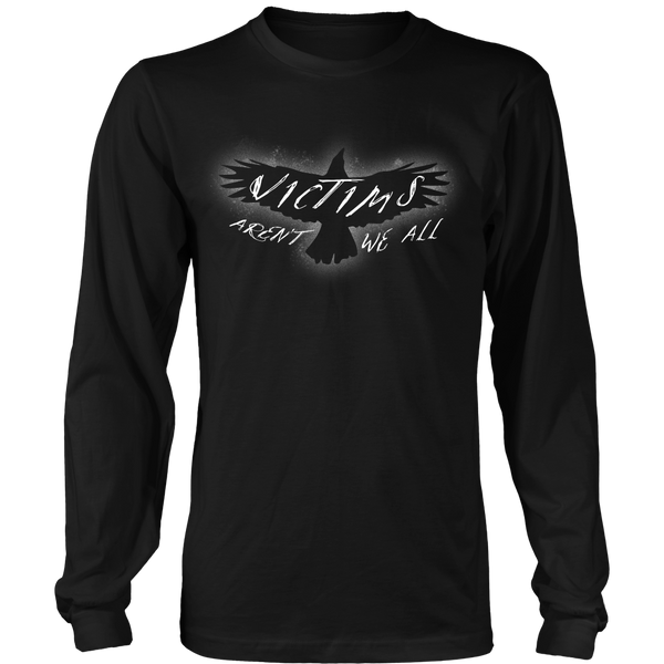 The Crow Inspired - Victims Aren't We All - Front Design