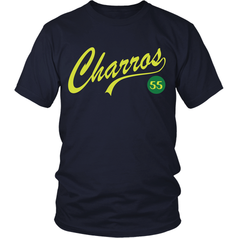 East Bound and Down - Charros #55 - Front Design