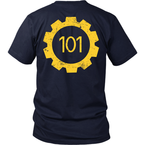 Fallout Inspired - Vault 101 - Back Design