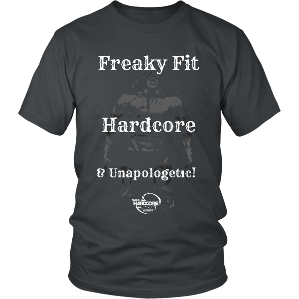 HCBBFF - Freaky Fit, Hardcaore, and Unapologetic - Front Design