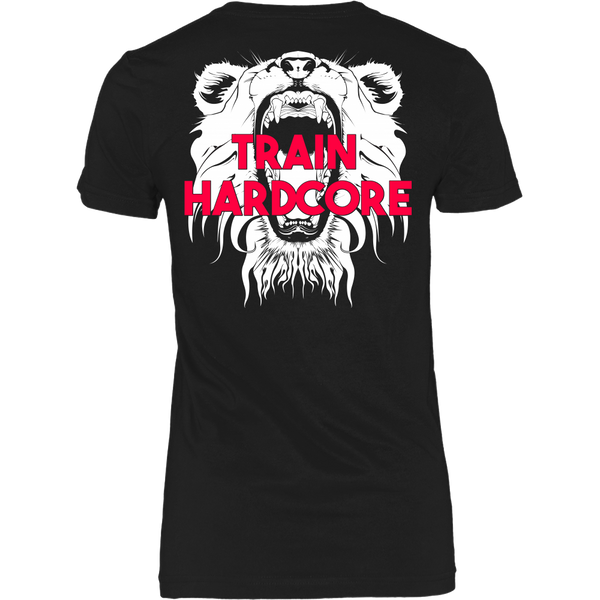 HCBBFF - Train Hardcore - Lion Roar Triangle - Back Design