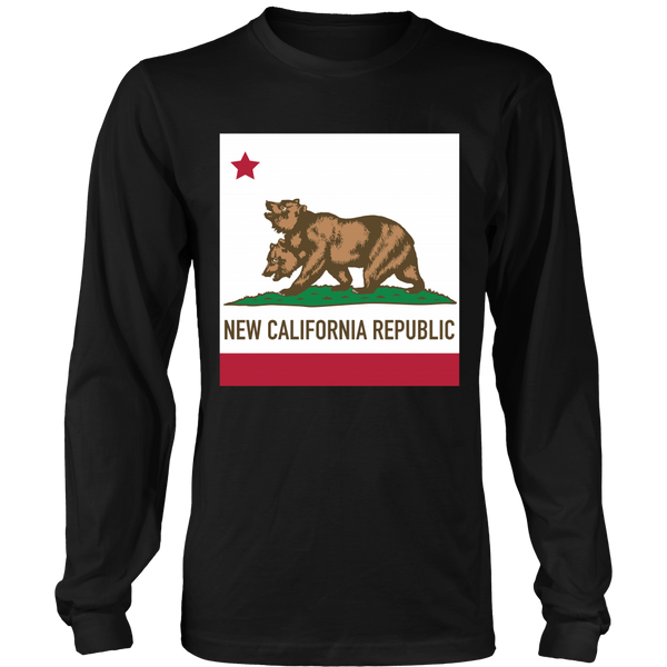 Fallout Inspired - New California Flag - Front design