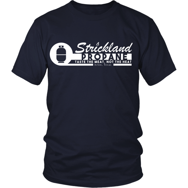 King of the Hill - Strickland Propane - Front Design