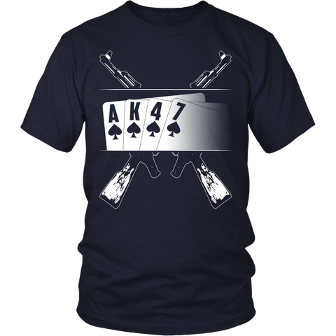 AK47 Playing Cards - Front Design
