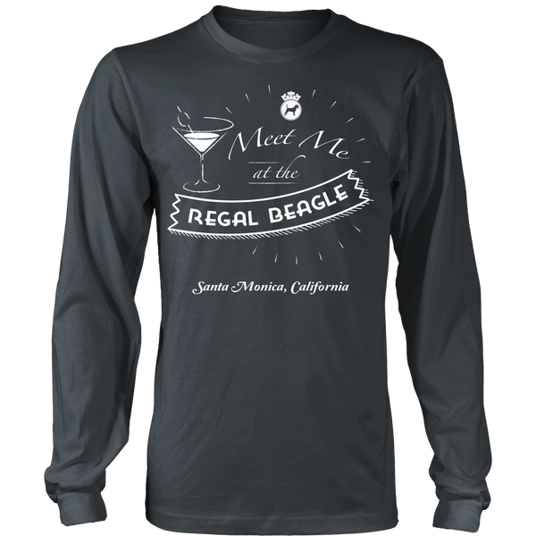 Threes Company Inspired - Meet Me At The Regal Beagle - Front Design
