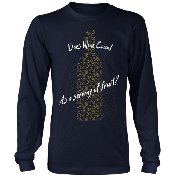 Does Wine Count As A Serving Of Fruit? - Front Design