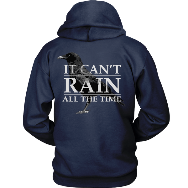 The Crow Inspired - It Can't Rain All The Time - Back Design
